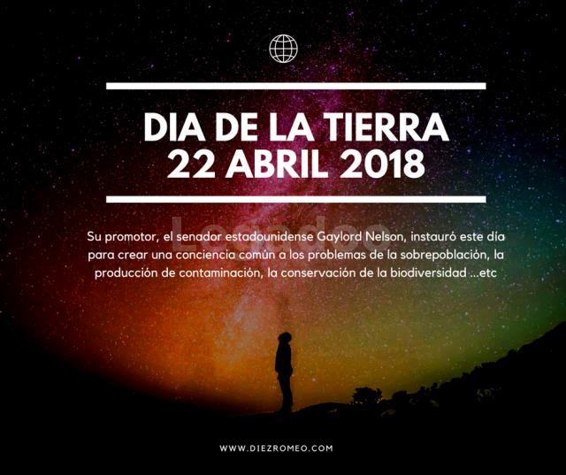 Diez Romeo. Dia de la Tierra 22 de Abril 2018