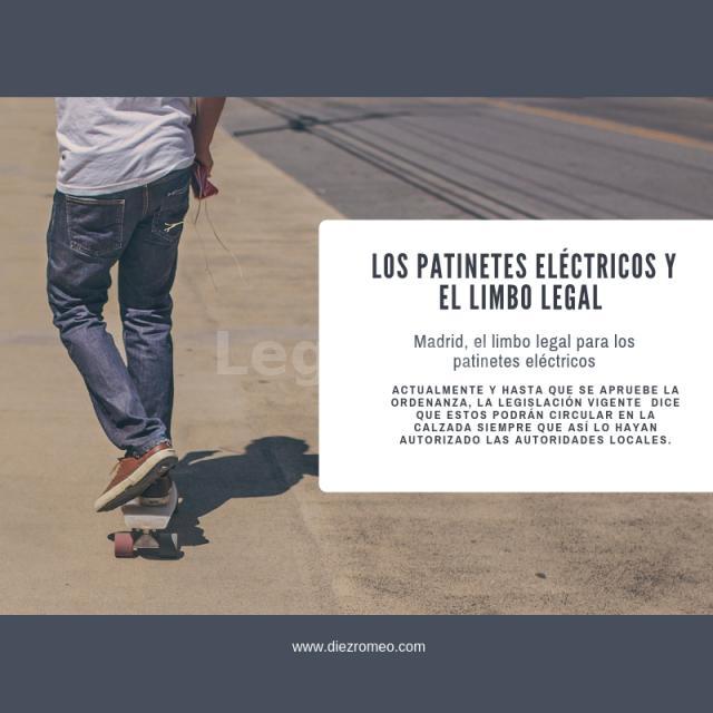 Díez y Romeo_ Los patines eléctricos en el limbo legal