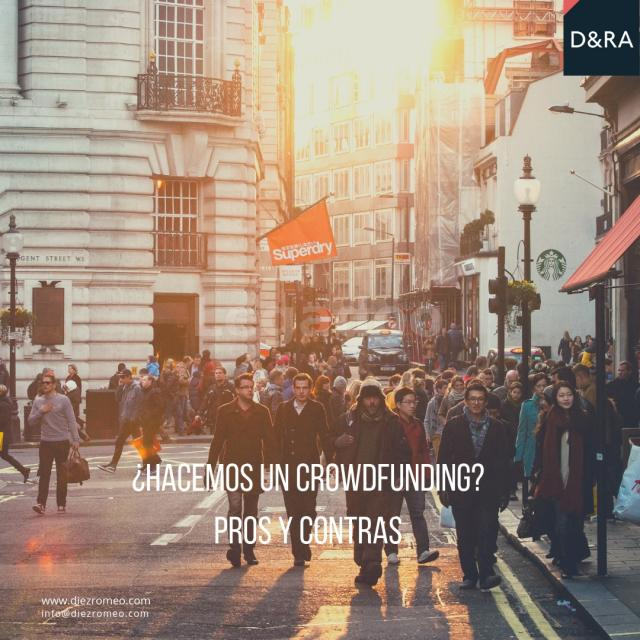 ¿Hacemos un crowdfunding ? Pros y Contras.