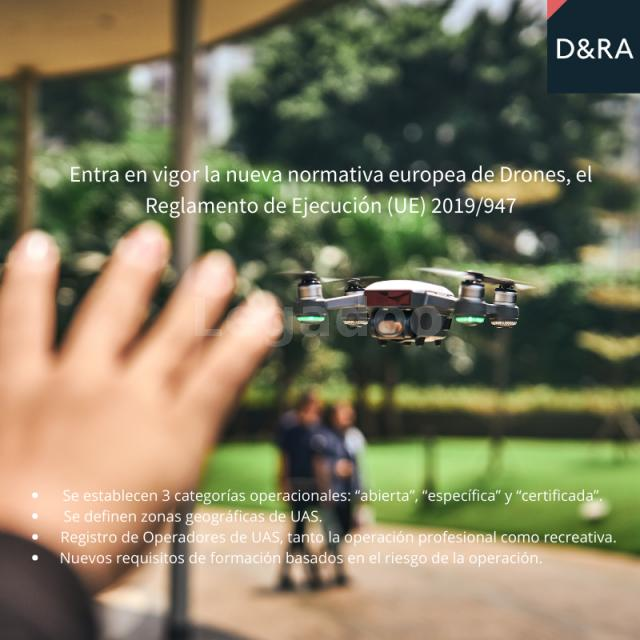Díez Romeo. Legal Drones. Normativa Europea de Drones.