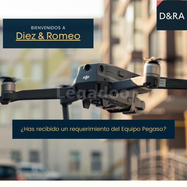 Equipo Pegaso. Requerimiento Drones