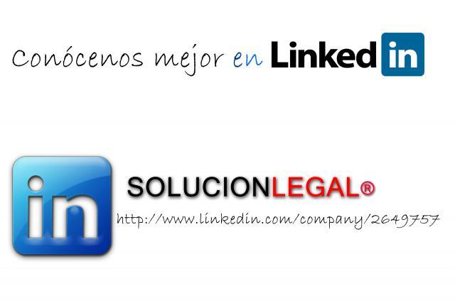 SOLUCIONLEGAL ABOGADOS en Linkedin - SOLUCION LEGAL ABOGADOS