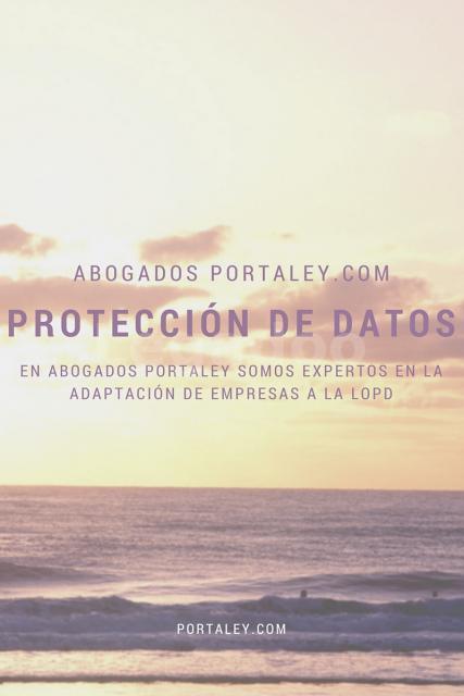 Protección de datos - Abogados Portaley