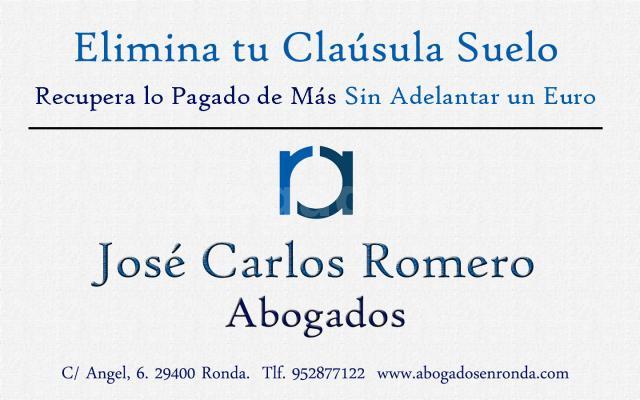 Elimina tu Cláusula Suelo - Jose Carlos Romero Murillo