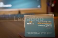 Tarjeta de Visita - Segoley - Abogados y Administración de Fincas