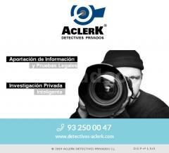 Detective en Barcelona - ACLERK DETECTIVES PRIVADOS S.L