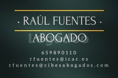 Raúl Fuentes - ABOGADO - Cibes Abogados - Raúl Fuentes