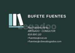 Bufete Raúl Fuentes - Cibes Abogados - Raúl Fuentes
