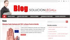 Visita nuestro Blog - SOLUCION LEGAL ABOGADOS