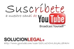 SOLUCIONLEGAL ABOGADOS en Youtube - SOLUCION LEGAL ABOGADOS