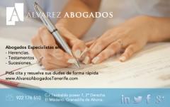 Abogados Herencias Tenerife - Alvarez Abogados Tenerife