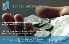 Abogados Bancario Tenerife - Alvarez Abogados Tenerife