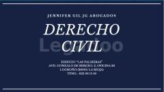 DERECHO CIVIL - Jennifer Gil JG Abogados