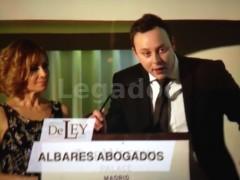 Albares Abogados Premio de Ley 2017  - ALBARES & GOTOR ABOGADOS