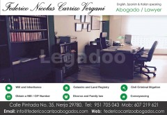 Federico Carrizo Abogado/Lawyer - Federico Carrizo Abogado/Lawyer