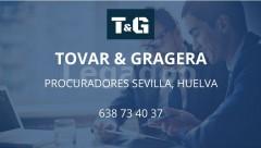 PROCURADOR AYAMONTE - TOVAR & GRAGERA PROCURADORES SEVILLA, HUELVA