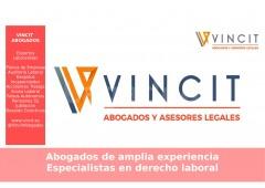 Especialistas expertos en Derecho Laboral  - Vincit Abogados