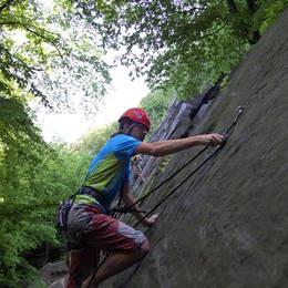 Mix fotek z lezení - Petr #2