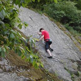 Mix fotek z lezení - Petr #6