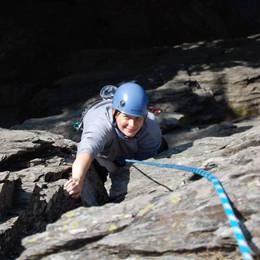 Mix fotek z lezení - Petr #8