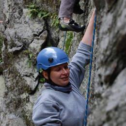 Mix fotek z lezení - Petr #10
