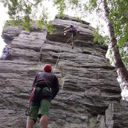 Mix fotek z lezení - Petr #13
