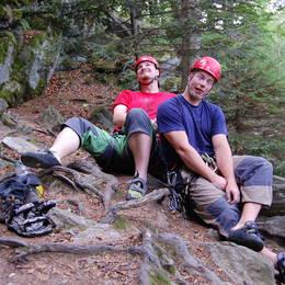 Mix fotek z lezení - Petr #14