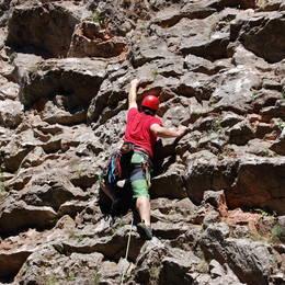 Mix fotek z lezení - Petr #16