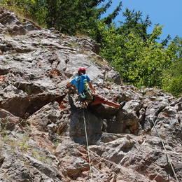 Mix fotek z lezení - Petr #17