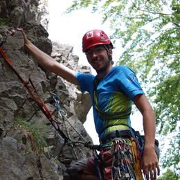 Mix fotek z lezení - Petr #18