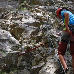 Mix fotek z lezení - Petr #19