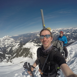 Velikonoční skialpy 2016 #56