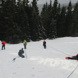 Krkonoše (lavinovej a skialpovej kurz) #26