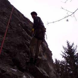 Povánoční lezení na Javoříčku #16