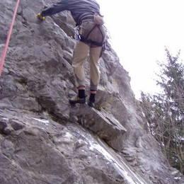 Povánoční lezení na Javoříčku #15