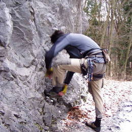 Povánoční lezení na Javoříčku #2