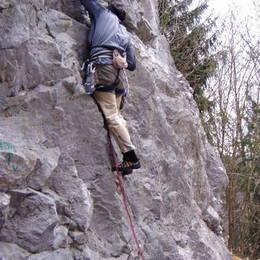 Povánoční lezení na Javoříčku #3