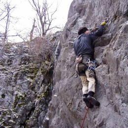 Povánoční lezení na Javoříčku #4