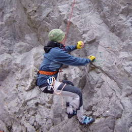 Povánoční lezení na Javoříčku #11