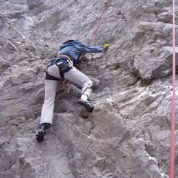 Povánoční lezení na Javoříčku #12