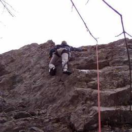 Povánoční lezení na Javoříčku #13