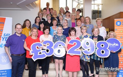 WeightWatchers raise £36000 for Stroke Association