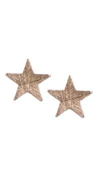 Stjerne%c3%b8reringe guld