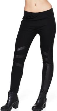 99089 sort legging med l%c3%a6derstiber