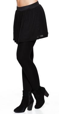 Kort kort a nederdel med elastik i taljen