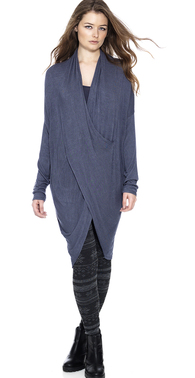 1176 denim blue kjole