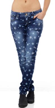 8080 jeans med stjerner