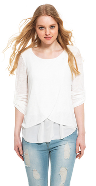 2842 hvid bluse