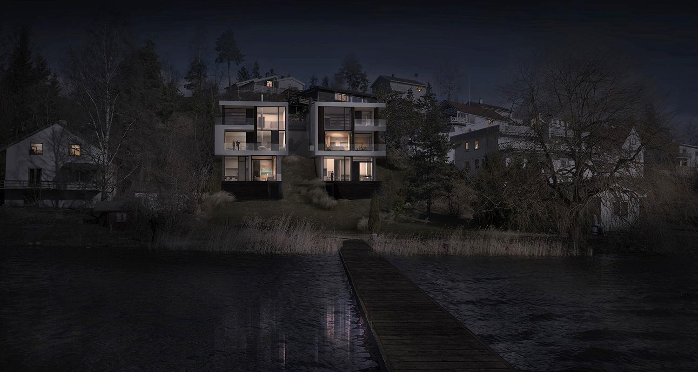BJØRNSVIKVEIEN-View2 night-shot-lysere