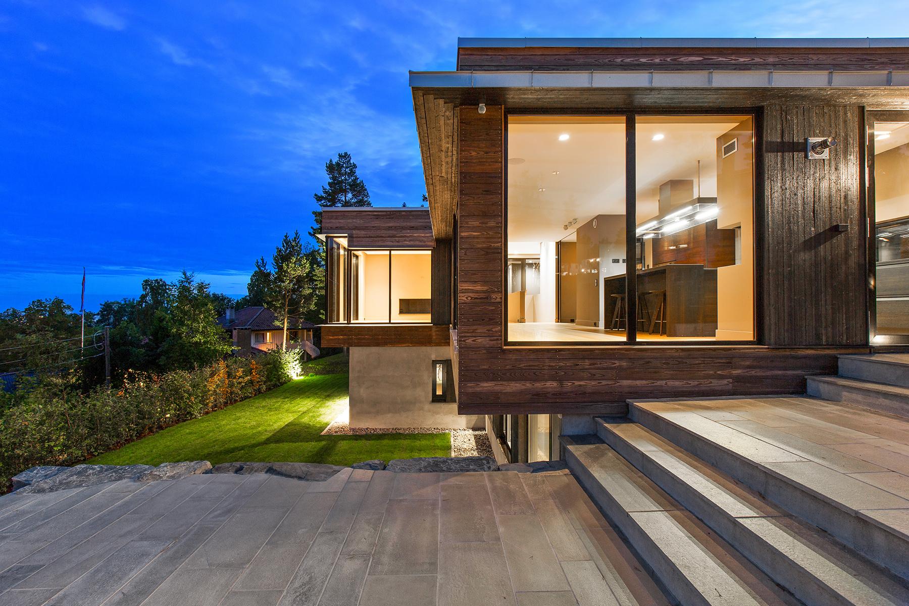 Mev9 logg arkitekter - Norwegian wood houses ...